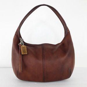 Coach Saddle Brown Leather Ergo Hobo Shoulder Bag